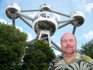 At the Atomium, Brussels