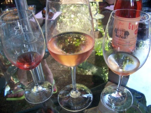 Rosés, much like roses, come in many colours.