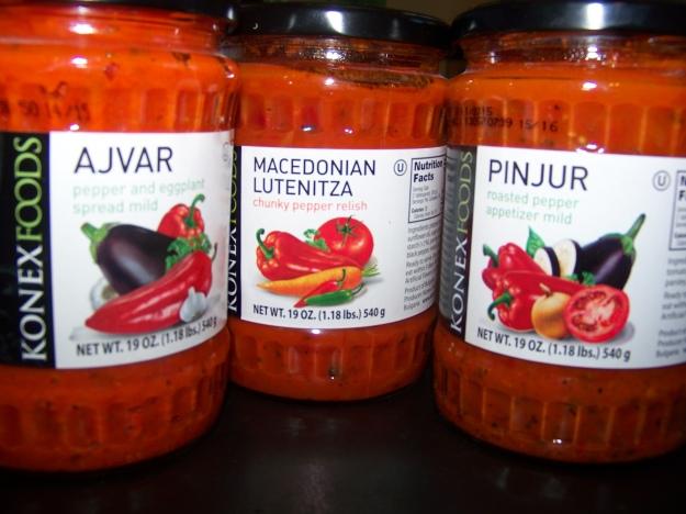 Three tasty pepper-derived foodstuffs.