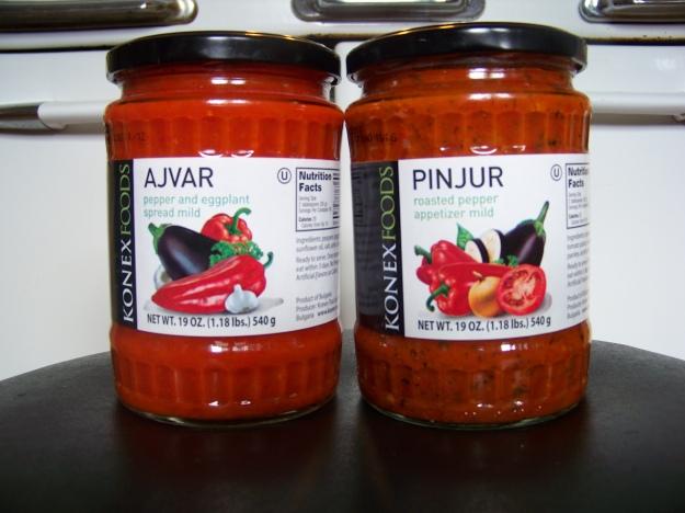 The REAL Ajvar and Pinjur.