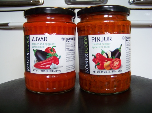 The REAL Ajvar and Pinjur.