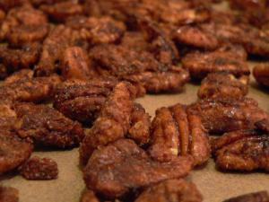 Spiced Caramelized Pecans
