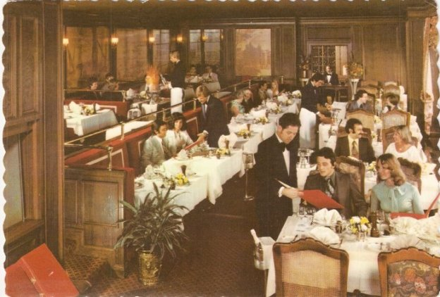 Fine Dining at the now-shuttered La Tour, Indianapolis, circa Wolfgang's era